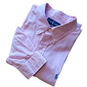 Ralph Lauren | Pink L/S Button Down Shirt | EUC
